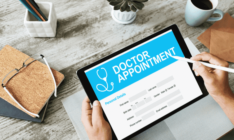 Doctor appointment portal